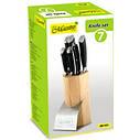 Набор ножей в деревянной колоде Maestro, 7 предметов, MR 1421, фото 2