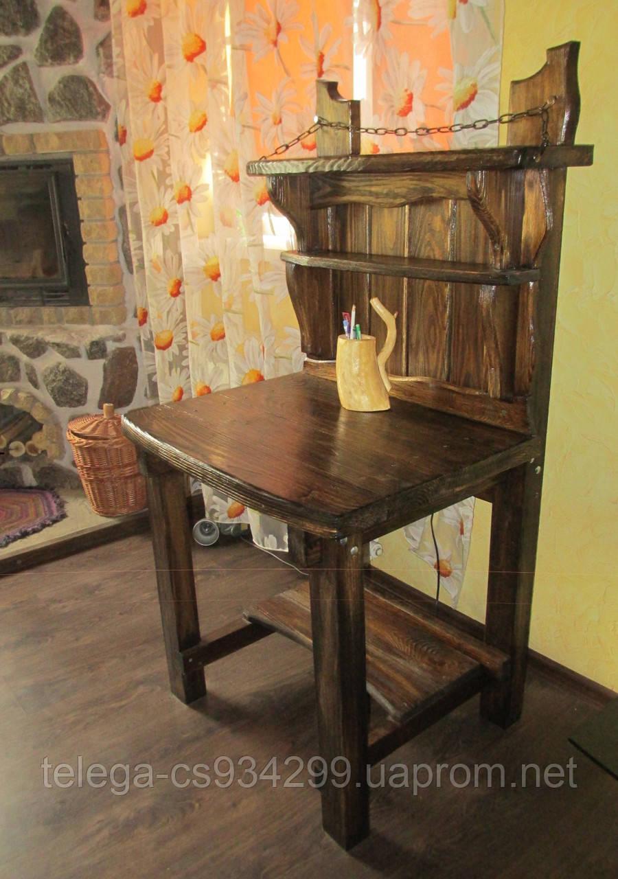 Столик деревянный для компьютера
