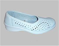 Туфли женские из кожи