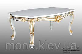 Чайный стол с резными ножками №5