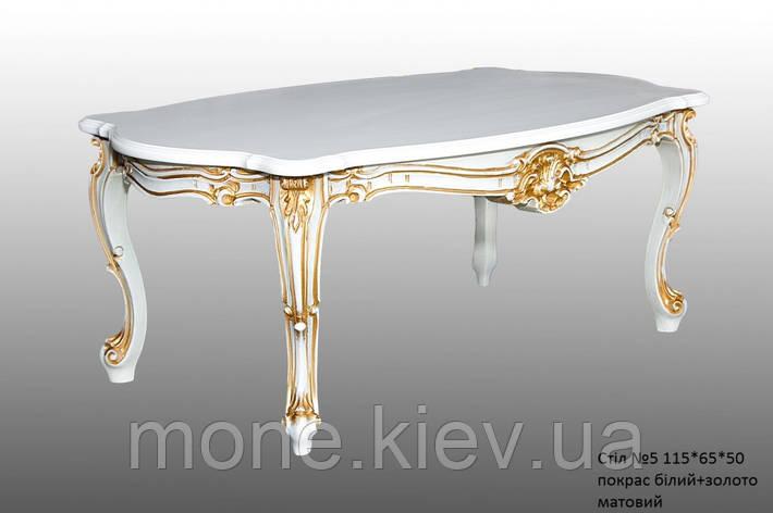 Чайный стол с резными ножками №5, фото 2