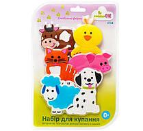 """Набор игрушек для купания на присосках ТМ """"KINDERENOK"""" Любимая Ферма"""
