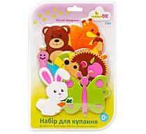 """Набор игрушек для купания на присосках ТМ """"KINDERENOK"""" Лесные Животные"""