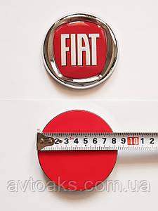 Эмблема FIAT диам. 85, 75 мм.