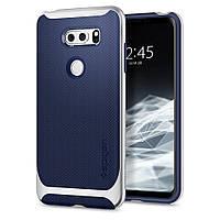 Чехол Spigen для LG V30 Neo Hybrid, Satin Silver