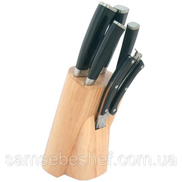 Набор ножей в деревянной колоде Maestro, 7 предметов, MR 1424
