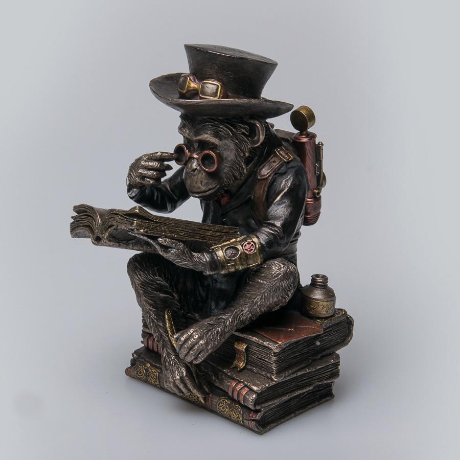 Статуэтка Шимпанзе-профессор Veronese Италия (19 см) 76796A4