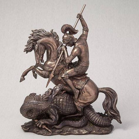 Статуэтка Георгий Победоносец Veronese Италия (32 см) 75180 A4, фото 2