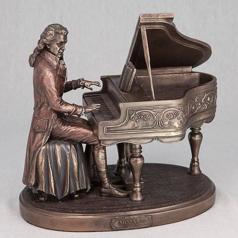 Статуэтка Вольфганг Амадей Моцарт Veronese Италия (20 см) 75168 A4, фото 2