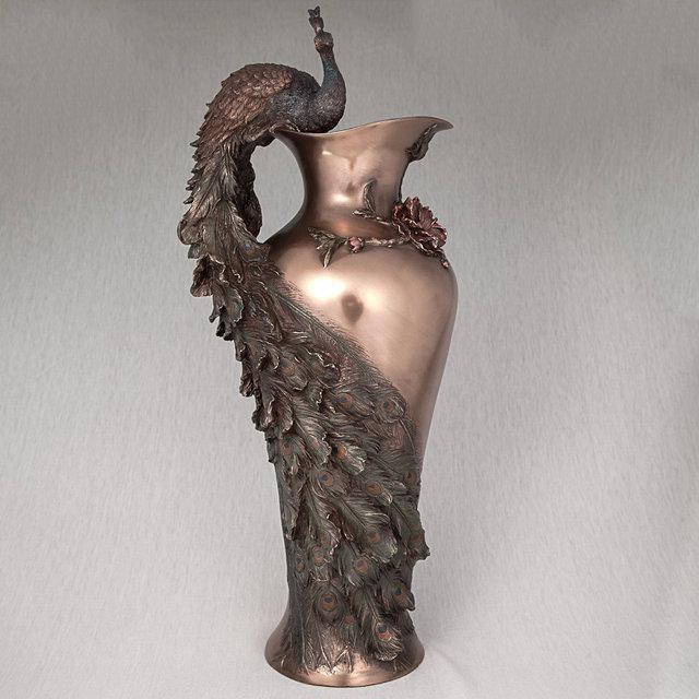 Ваза Павлин (50 см) Veronese 10505 V4 Италия