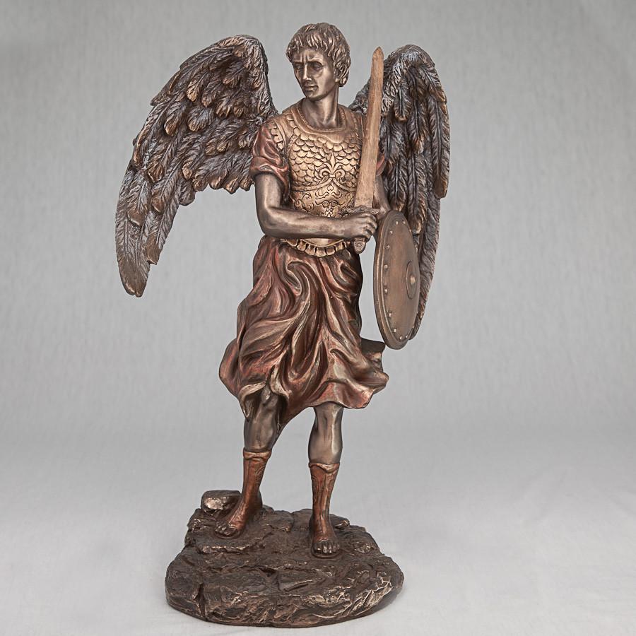 Статуэтка Архангел Михаил Veronese (31 см) 68866 A4 Италия