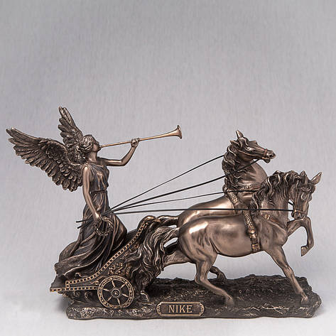 Статуэтка Ника в колеснице Veronese Италия (26*19 см) 75984A4, фото 2