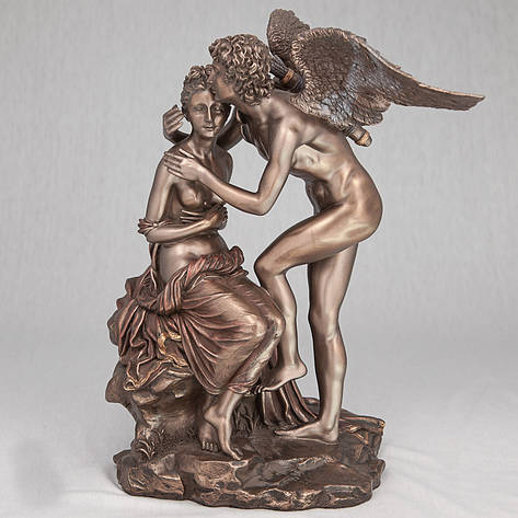Статуэтка Купидон и Психея Veronese (28 см) 72156 A4 Италия, фото 2