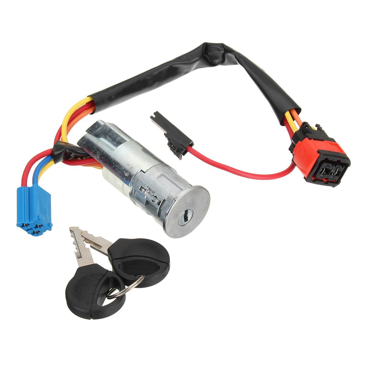 Выключатель зажигания Стартовый ствол Замок Ключи для Peugeot 206 для Citroen Picasso Xsara 4162P0-1TopShop