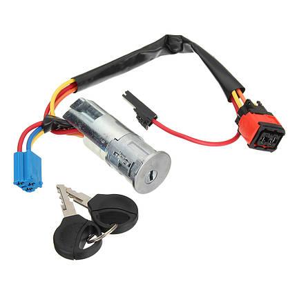 Выключатель зажигания Стартовый ствол Замок Ключи для Peugeot 206 для Citroen Picasso Xsara 4162P0-1TopShop, фото 2