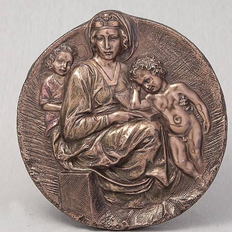 Статуэтка Мария с Иисусом Veronese Италия (22 см) 75383 A4, фото 2