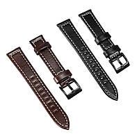 Замена 18-мм кожаных наручных часов Стандарты Ремень для Nokia Steel HR