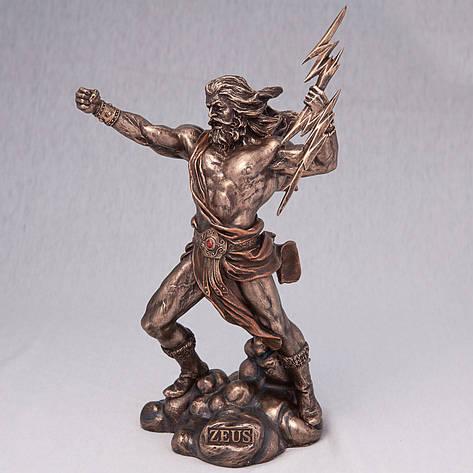 Статуэтка Зевс (26 см) 75947 A4 Veronese Италия, фото 2