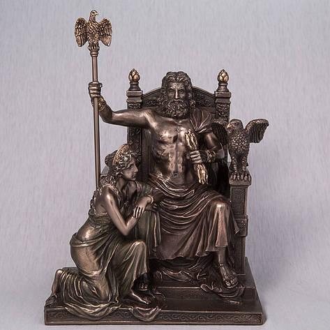 Статуэтка Зевс и Гера (28 см) Veronese Италия 76068A4, фото 2