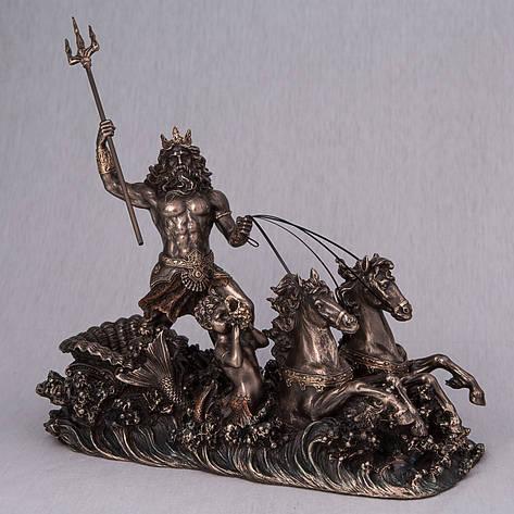 Статуэтка Посейдон Veronese Италия 76279A4 (25*20 см), фото 2