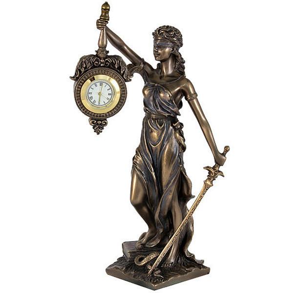 Часы Фемида (19 см) Veronese Италия 76754A4