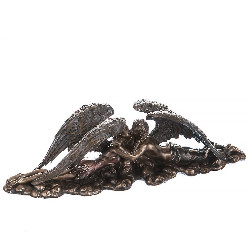 Статуэтка Влюбленные ангелы Veronese Италия (9 см)  74859 A4