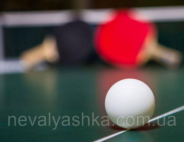 Мяч для Настольного Тенниса Пинг - Понга Теннисный Мячик Белый Шарик Пинг-Понг, 000246