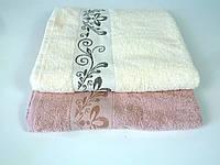 Махровое полотенце  банное 70х140 см с кантом
