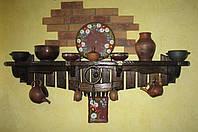 Полка деревянная декоративная