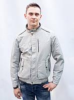 Куртка ветровка бомбер парка двухстороння мужская короткая демисезонная весенняя ветровка