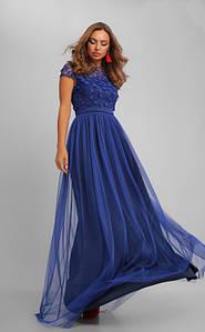 Элегантное вечернее платье с пышной юбкой 44-48 р