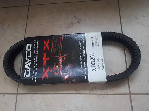 Ремень вариатора Cf Moto 800 X8 35.5 x 937 Dayco XTX 2261 971x36.3, фото 2