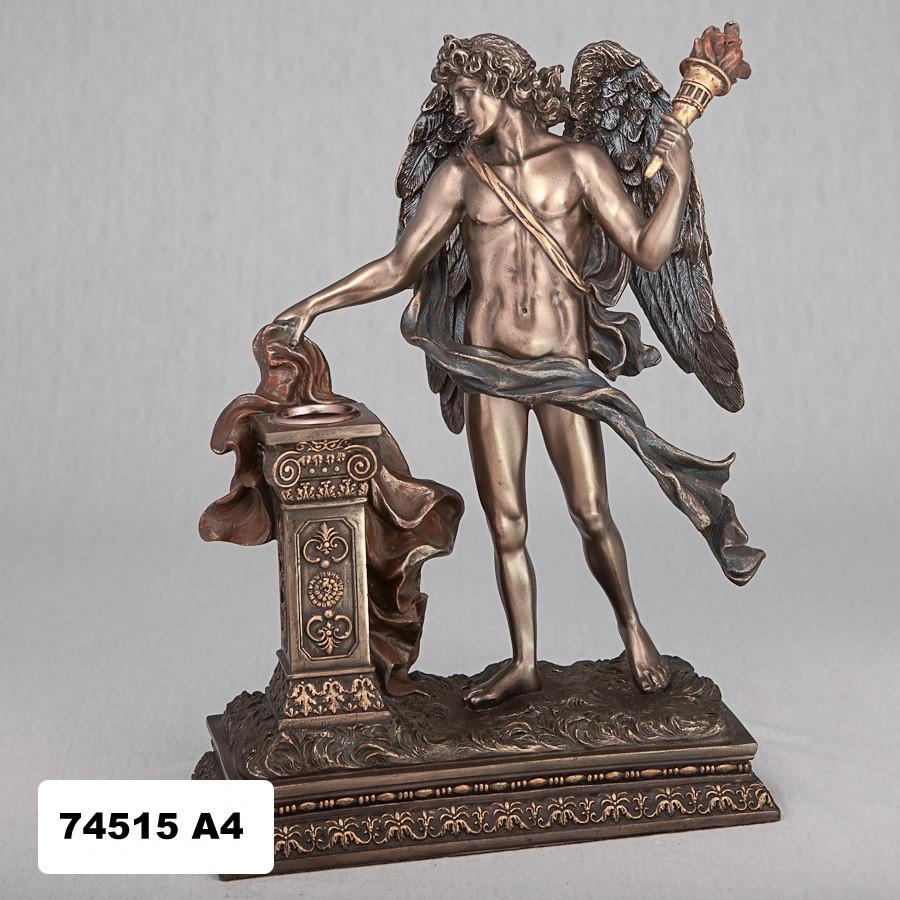 Подсвечник Ангел с факелом Veronese Италия (26 см) 74515 A4
