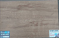 Vinilam 6601212-A Дуб Дортмунд 3 mm виниловая плитка клеевая
