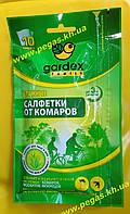 Салфетки влажные от комаров Gardex Family 10 штук