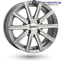 """Автомобильные литые диски Disla Baretta 13"""" Silver (305 S 4x108 5,5x13 30 67,1)"""