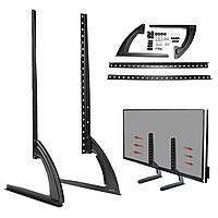 Универсальная настольная стойка для настольных компьютеров для LED LCD Плазменный телевизор с плоским экраном 26-65 дюймов