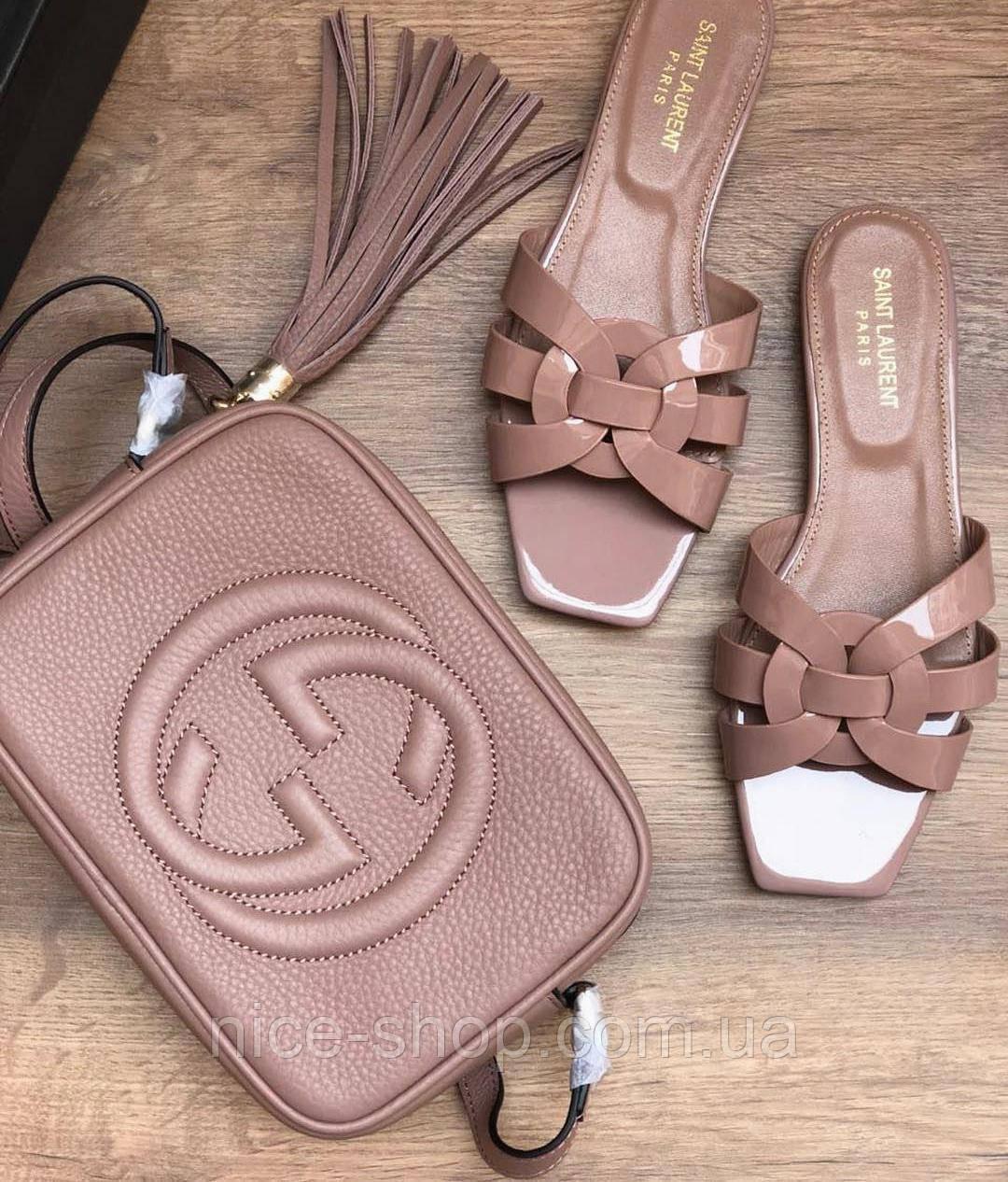 Сумка Gucci mini пудра