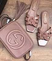 Сумка Gucci mini пудра, фото 1