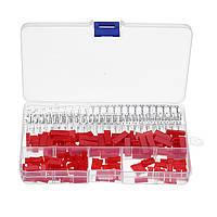 420Pcs 2.54mm Pin Pin Кабельный штекер Электрический Коннектор Заголовок Провод Клеммная колодка
