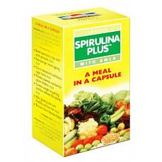 Спирулина Плюс с Амлой, Spirulina Plus with amla Goodcare Pharma, 60 капсул