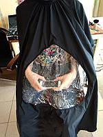 Парикмахерские накидки накидка для парикмахеров парикмахерские пеньюары накидка для стрижки черная
