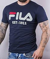 Мужская котоновая футболка SM220 (р-р 46-52) оптом со склада в Одессе