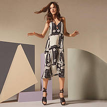 Новое миди платье в принт с красивой спинкой Topshop, фото 3
