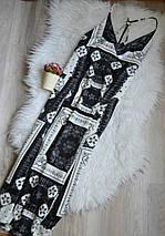 Новое миди платье в принт с красивой спинкой Topshop, фото 2