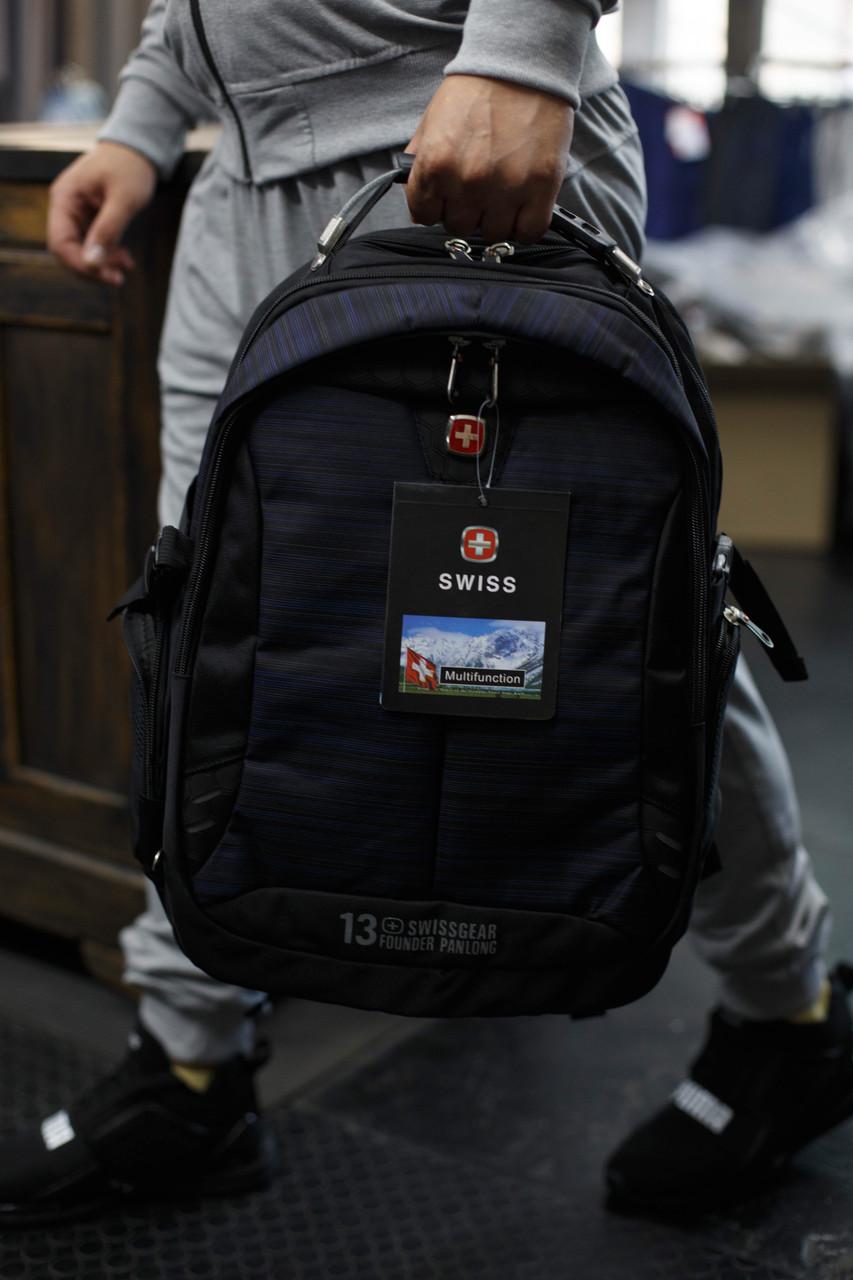 Рюкзак городской Swissgear , USB - разьем,выход на наушники.