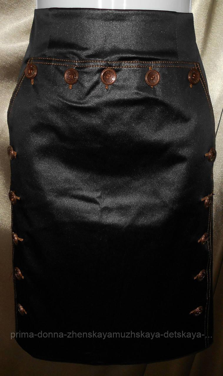 Стильная женская юбка прямого силуэта.