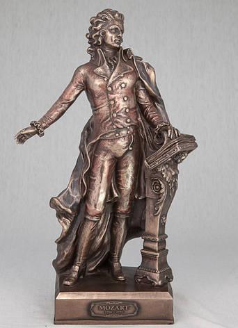 Статуэтка Вольфганг Амадей Моцарт (32 см) 75392 A4 Veronese Италия, фото 2