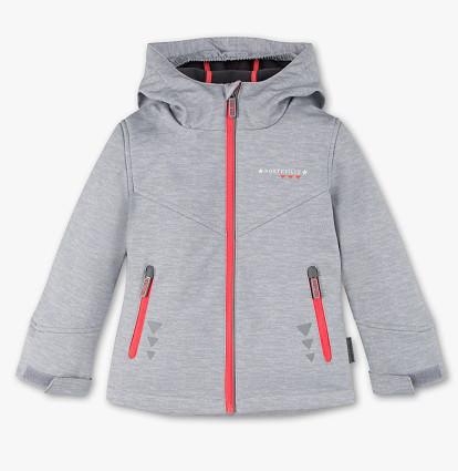 Детская куртка Soft Shell на осень-весну для девочки 7-8 лет C&A Германия Размер 128