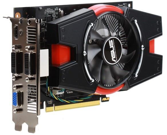 ASUS   GeForce GTX 650 Ti  1Gb DDR5  гарантия 3 мес.